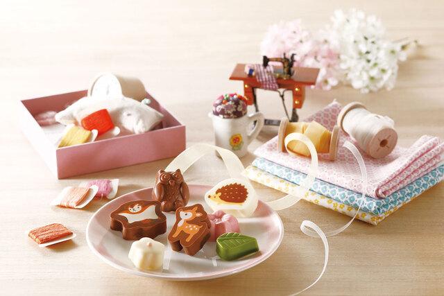フランス屋製菓 チョコレート チョコ バレンタイン 動物チョコ 動物 可愛いチョコ うさぎ ウサギチョコ ハリネズミ ハリネズミチョコ リス リスチョコ バンビ バンビチョコ