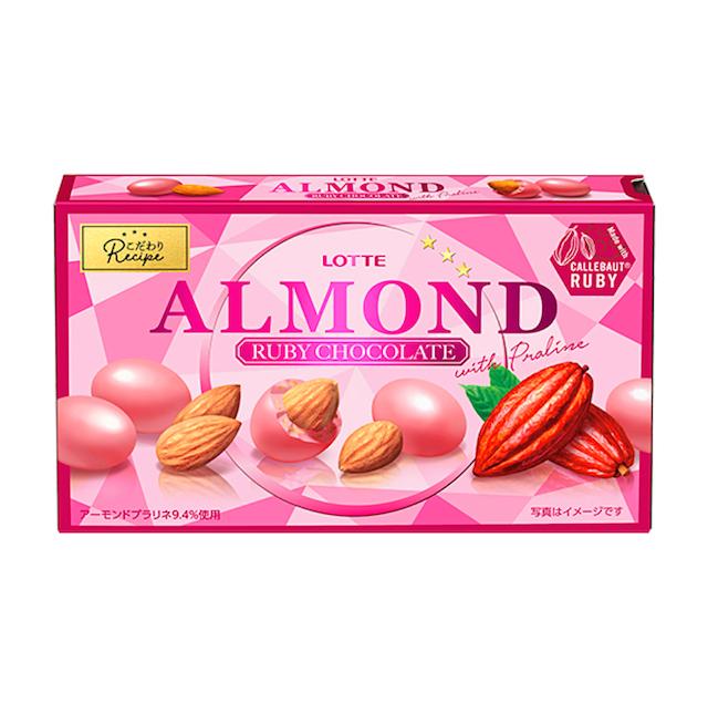 ロッテ アーモンドルビーチョコレート