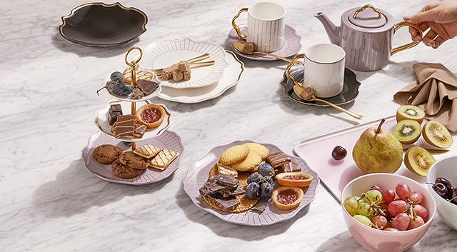 【フランフラン】 新作カフェセット「OUCHI CAFE」