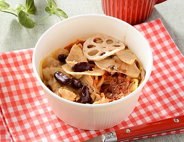 【ローソン】和パスタ こなな監修 豚肉の味噌トマトパスタ(2月9日発売)