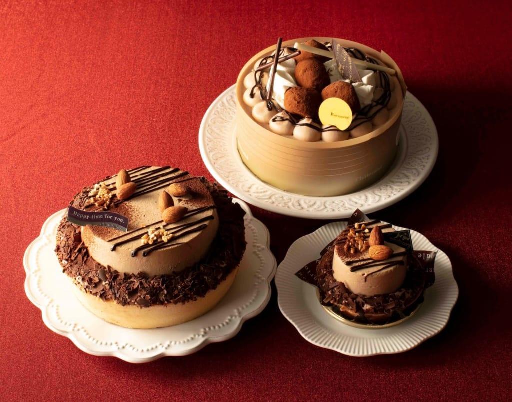 バレンタイン限定ケーキ3種