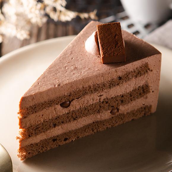 糖質86%カットのチョコショートケーキ