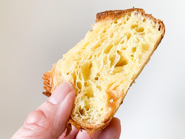 じゅわっと蜂蜜バターの風味が口の中に広がります