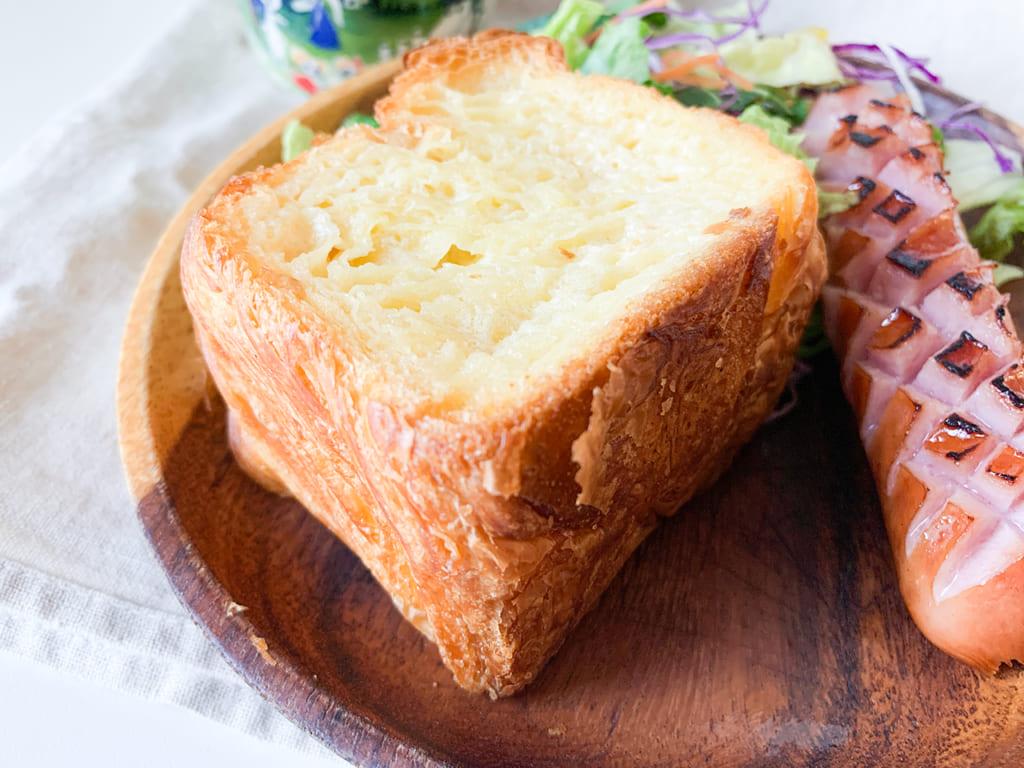 【ローソン新商品ルポ】ブランチにぴったり!「しみしみバターのはちみつトースト」