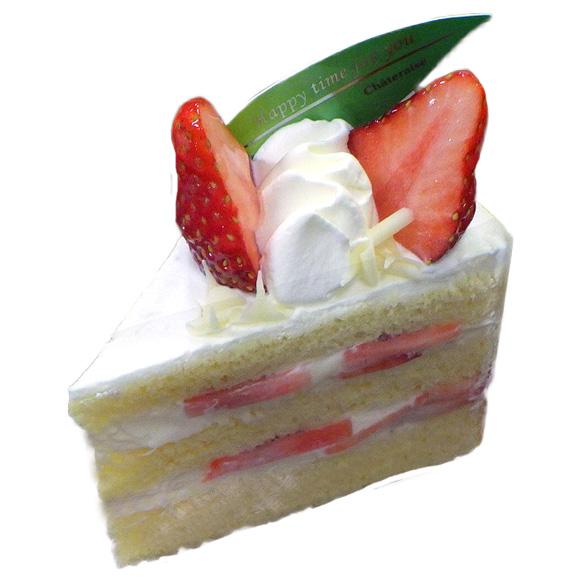 紅ほっぺ種苺のプレミアム純生クリームショートケーキ