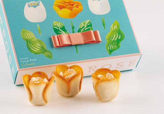 TOKYOチューリップローズ、手土産、東京土産、チーズ