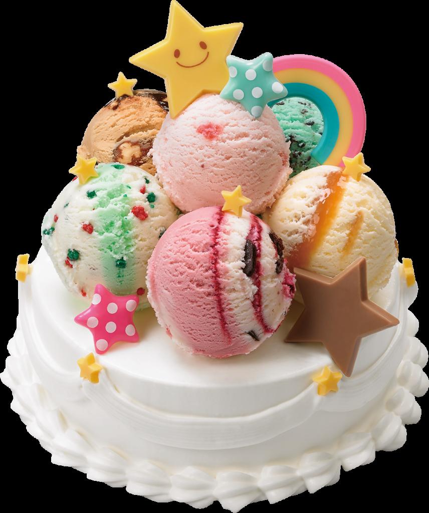 31 デコケーキ カラフル☆ポップ