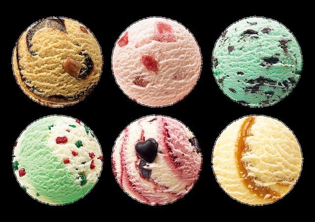 アイスクリーム6個