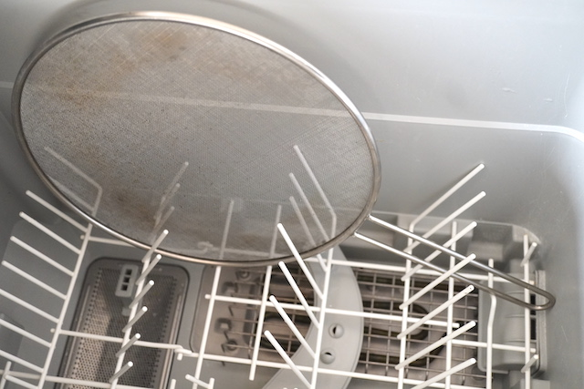 食洗機に入れたネット