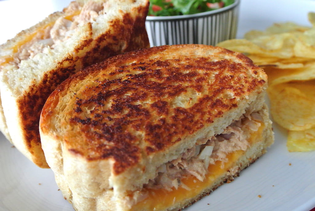 レシピ、食パン、アレンジ、アメリカ、サンドイッチ、ツナサンド、簡単