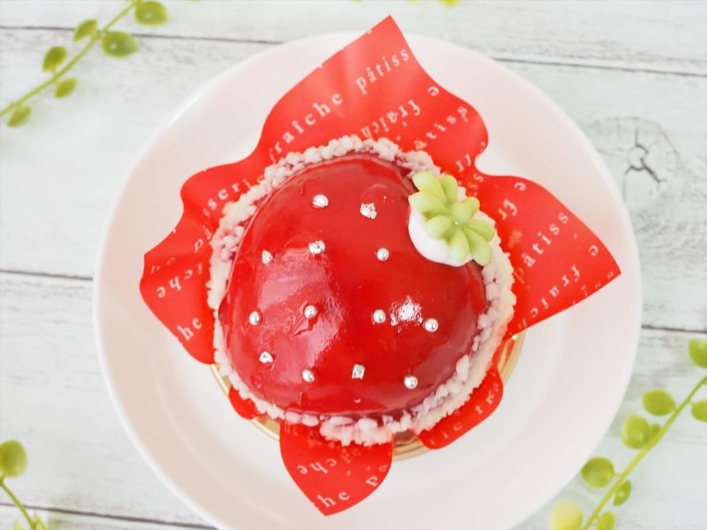 シャトレーゼまんまる苺ケーキ