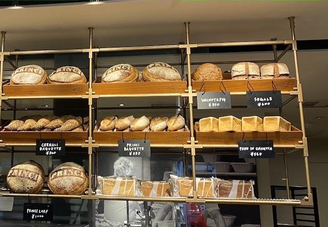 食パンの棚