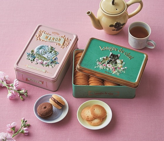 洋菓子店リビエール 「ラングドシャ」「MANON」