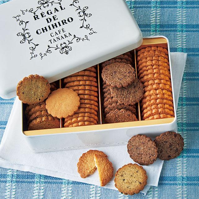 「レガル・ド・チヒロ」シリーズクッキー缶