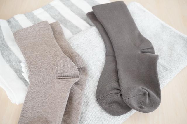 タオルと靴下