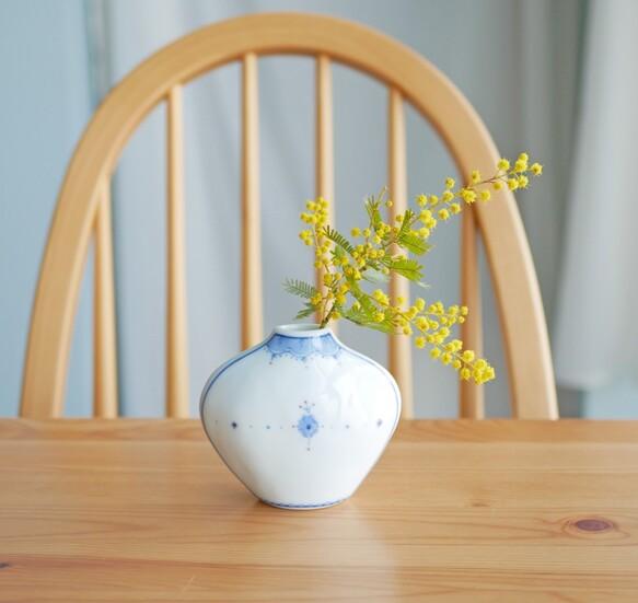 異国の香り お庭の花が似合う一輪挿し S