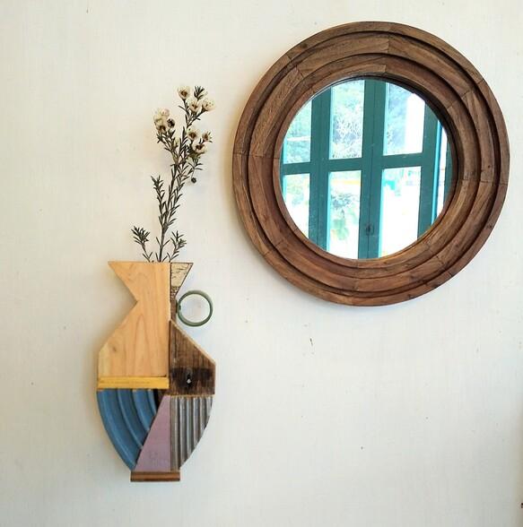 壁掛け一輪挿し『coppa flower vase』