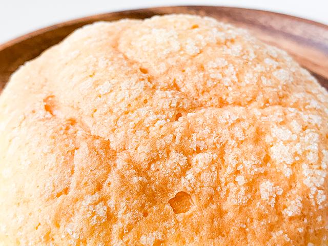 メロンパンには欠かせないクッキー生地もしっかり