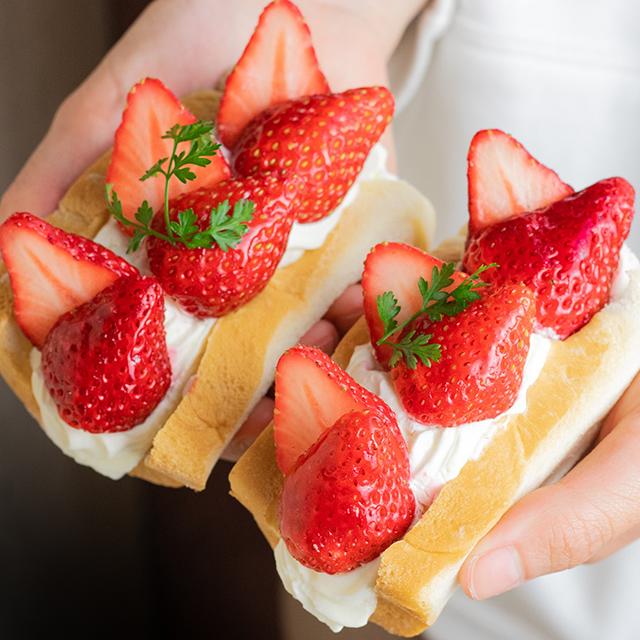 おすすめフルーツサンド10選 【STEAM BREAD EBISU】 あふれでるクリームの#フルーツスチパンサンド