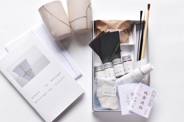 金継ぎキット Kintsugi Seed 動画付 シンプル ナチュラルな美しさ 器を治す 漆は自然からの贈り物