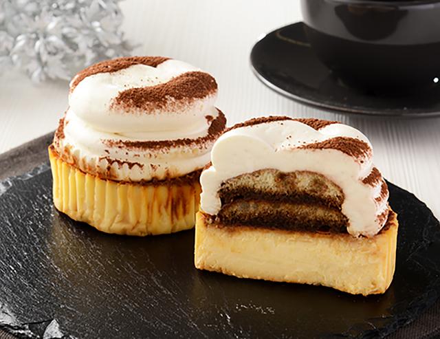 【ローソン】ティラミスバスチー -バスク風チーズケーキ-(4月27日発売)
