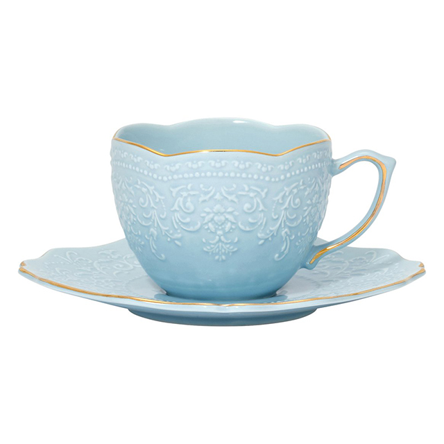 【フランフラン】母の日おすすめ商品10選 ヴォワール カップ&ソーサー ライトブルー
