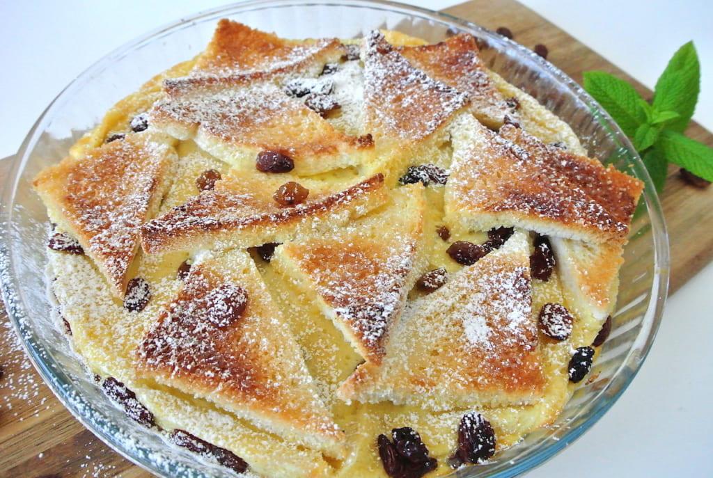 食パン、アレンジ、レシピ、簡単、イギリス、レーズン、チョコ、フレンチトースト、スイーツ、おやつ