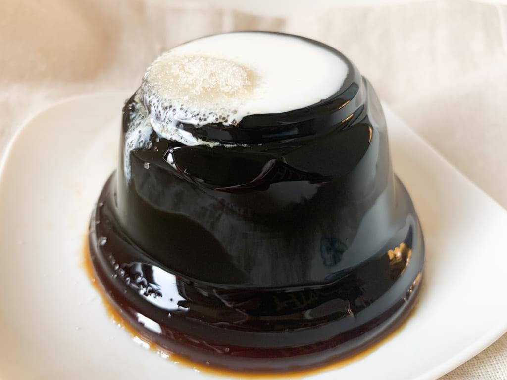 【カルディ商品ルポ】一度で二度美味しい?本格派コーヒーゼリー「モカキリマンジャロ コーヒーゼリー」