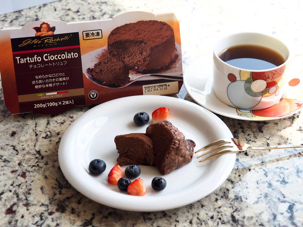 業務スーパー、イタリア直輸入、チョコレートトリュフ、チョコ、チョコレート、スイーツ