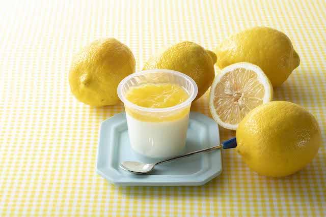 瀬戸内レモン牛乳寒天