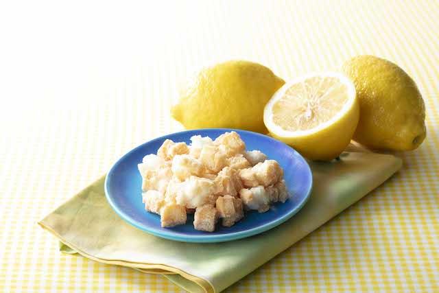 揚げ餅 塩レモン