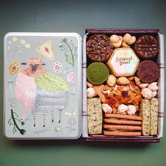 【5/27-31順次発送】ひつじ組のクッキー缶『spécialité!』