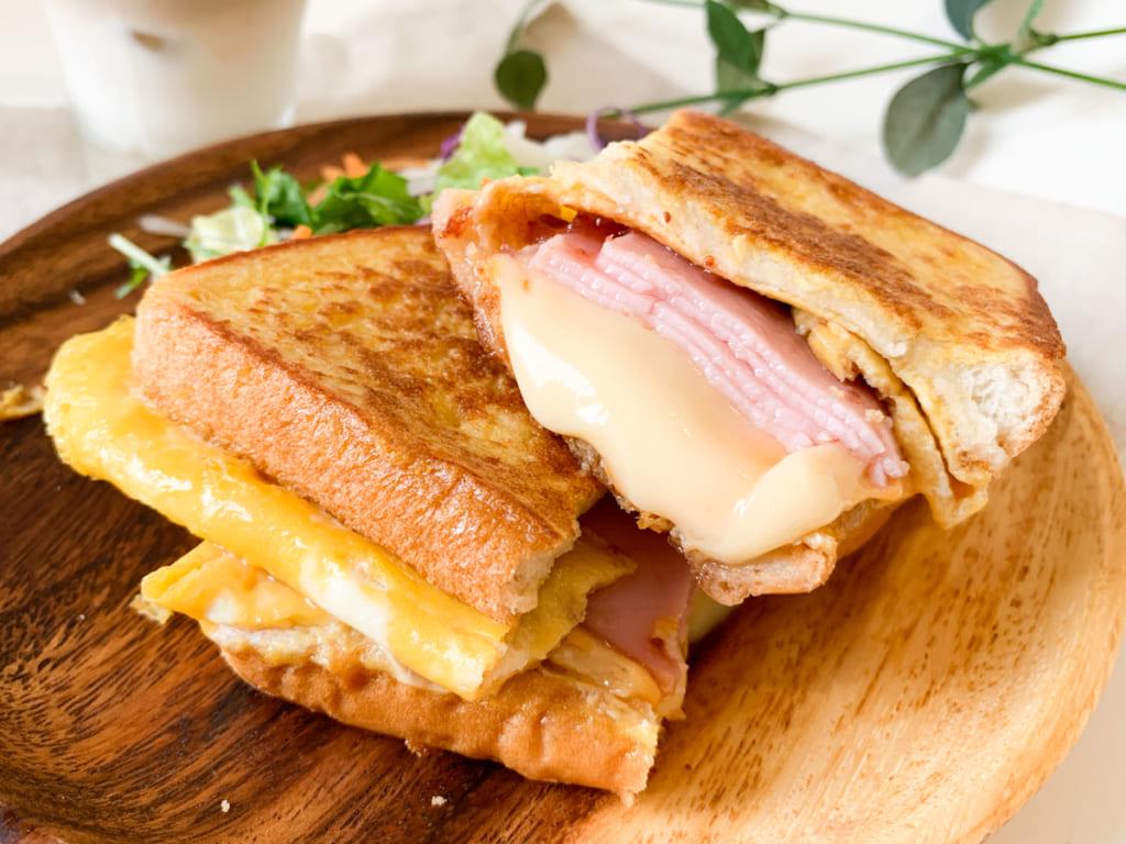 韓国で流行っている「ワンパントースト」って何?フライパン一つで簡単に作れちゃうトーストを作ってみました!