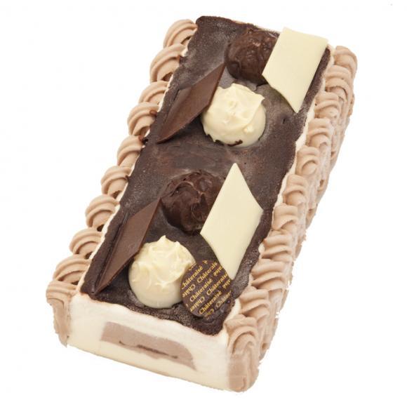 デザートアイスケーキ チョコレートバニラ