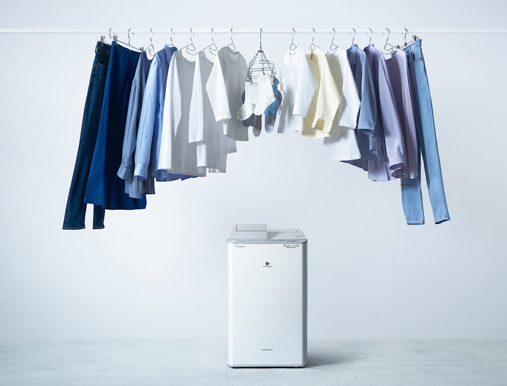 パナソニック、Panasonic、部屋干し、衣類乾燥除湿機、除湿機、お洗濯、洗濯、ニオイ、梅雨