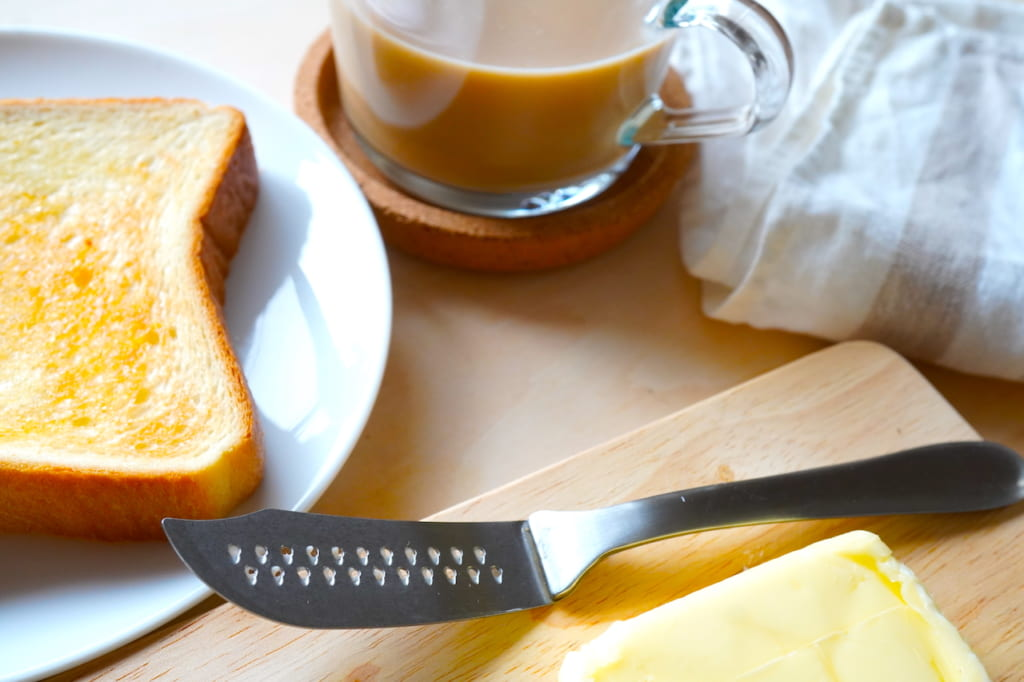 バターナイフと朝食