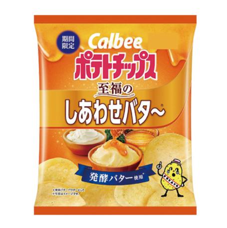 ファミリーマート カルビー ポテトチップス至福のしあわせバタ〜