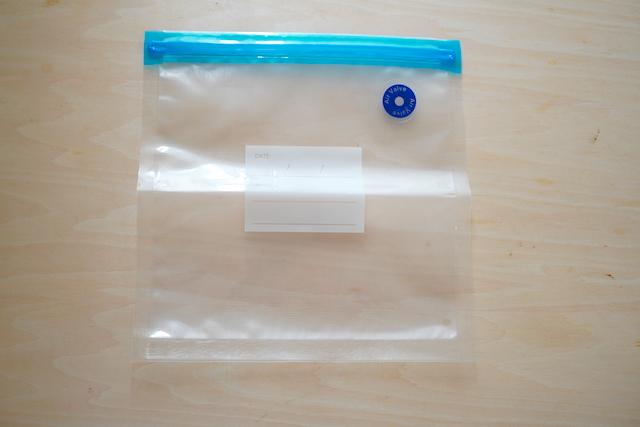食品圧縮袋