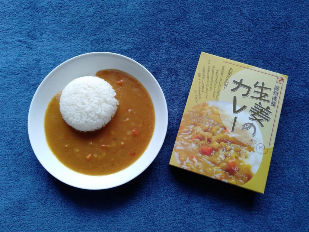ご当地カレー高知県の高知県産生姜のカレー