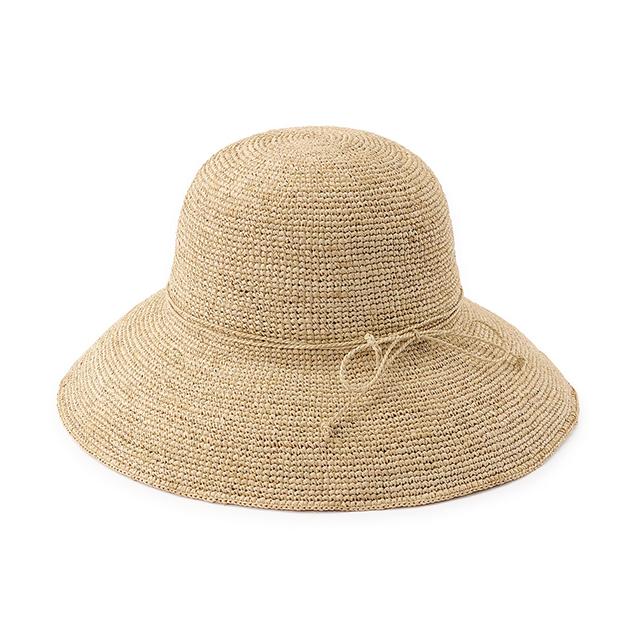 【無印良品のおすすめ商品】「夏小物」8選|7月3日 ラフィア つば広帽子 55~57.5cm・生成