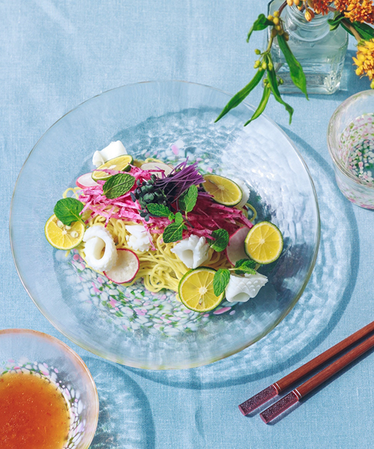 【Afternoon Tea LIVING おすすめ商品】「サマーギフト」10選|7月8日 津軽びいどろ麺皿