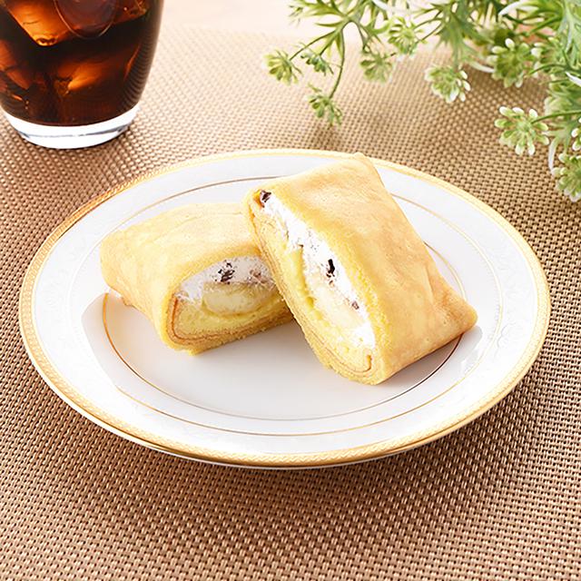 【ファミリーマート新商品】チョコバナナのもちもちクレープ|7月13日発売