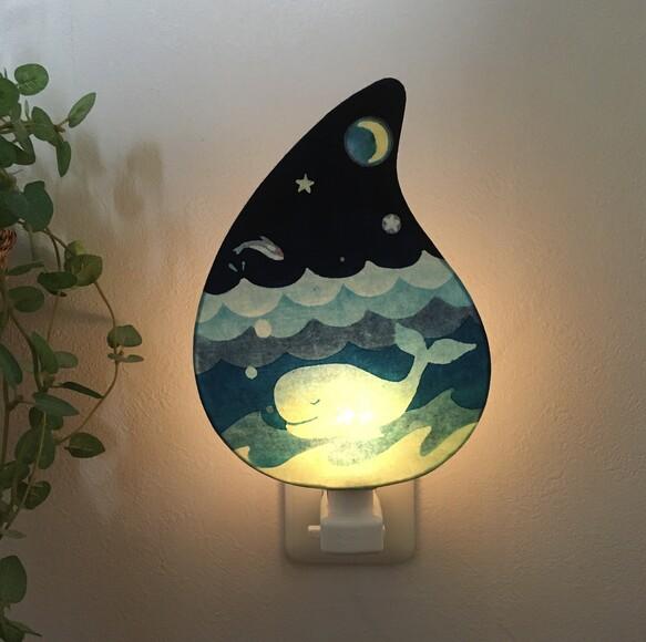 ナイトランプ「ある海の詩」