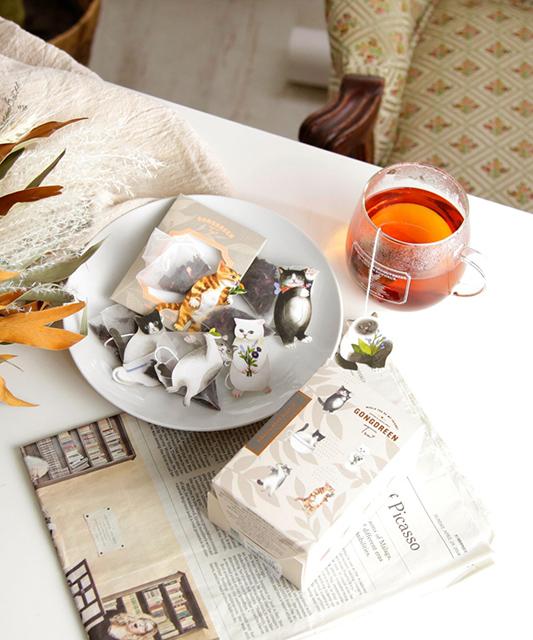 【Afternoon Tea LIVING おすすめ商品】「ティーバッグ・パウダーティー」10選|7月29日 GONGDREEN/アニマルタグ付きティーバッグ