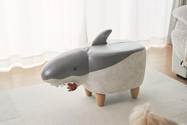 【ヴィレヴァンオンライン】サメのスツール Jones