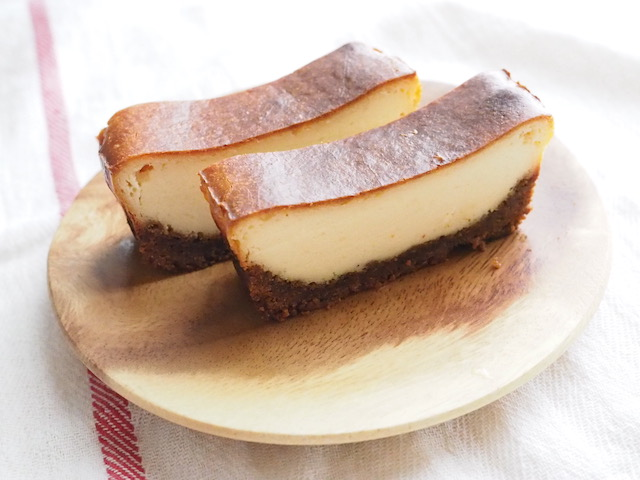 ジンジャークッキーチーズケーキ