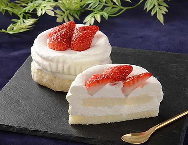 【ローソン新商品】グラン絹白クリームの苺ショート|8月3日発売