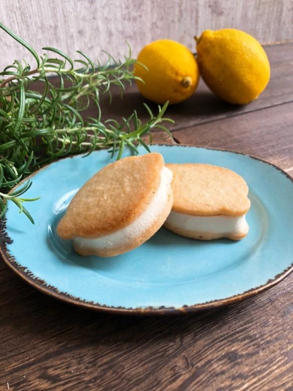 レモンクリームクッキーサンド