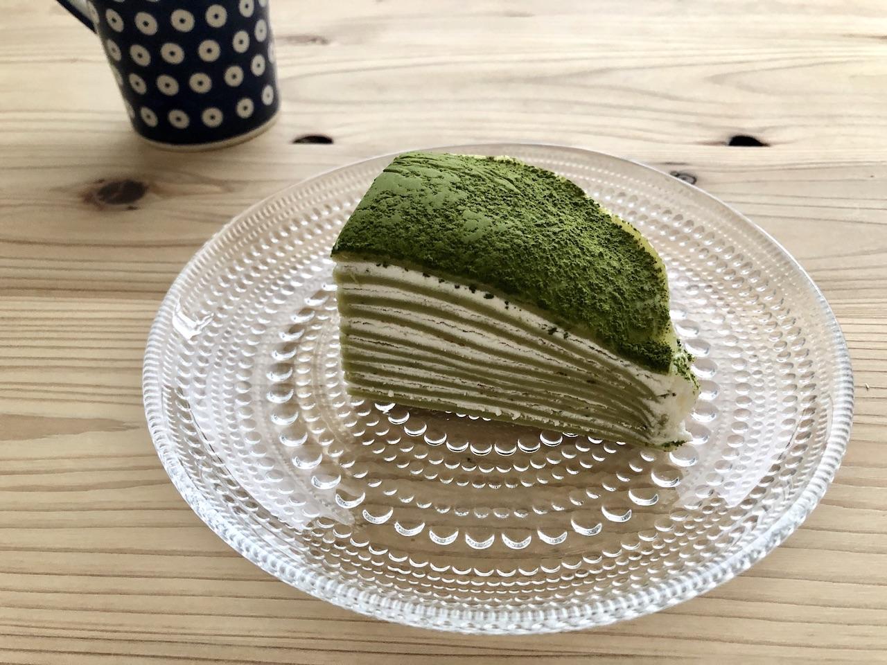 ノッティングヒルの洋菓子店 抹茶ミルクレープ