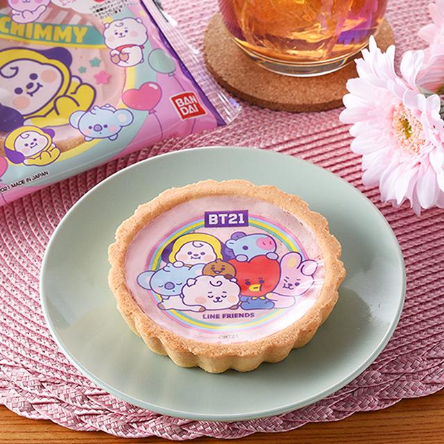 【ファミリーマート新商品】BT21いちご風味タルト|8月24日発売